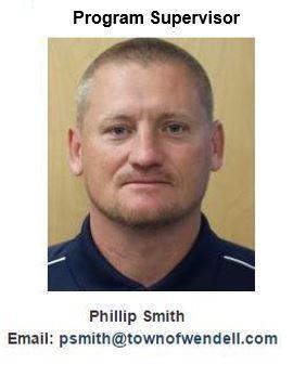 Phillip Smith, Park Maintenance Technician/Track Out Coordinator