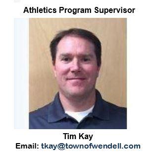 Tim Kay, Athletics Program Supervisor